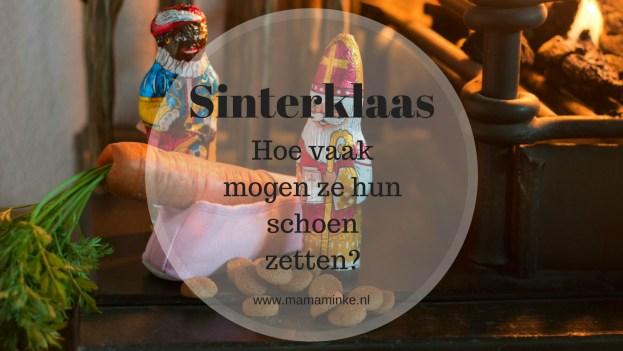 Sinterklaas is weer bijna in Nederland. Hoe vaak mag jou kind zijn of haar schoen zetten? Dit is hoe wij het aanpakken. uitgelichte afbeelding