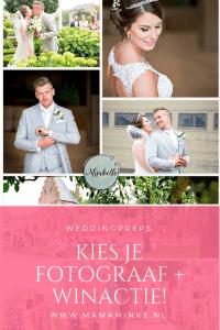 Weddingpreps: zoek een fotograaf. Hoe kiezen wij onze fotograaf? En een gave winactie waarbij je een fotoshoot kan winnen. Ik mag 3 mensen blij maken!