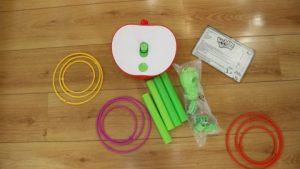 Wobbly worm, het spel voor kleine en grote kinderen inhoudt pakket