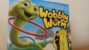 Wobbly worm, het spel voor kleine en grote kinderen doos