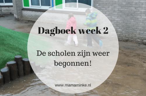 Dagboek week 2 huis; uitgelichte afbeelding