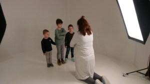Het derde gezin die een van de fotoshoots won