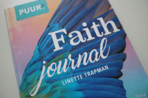 faith journal voorkant