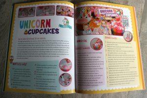 unicorn cupcakes bakken met de zoete zusjes