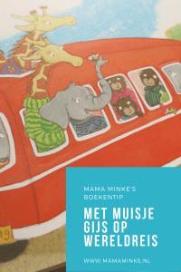 Kinderboekenmaand Met muisje Gijs op wereldreis - pinterest