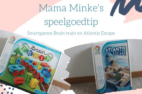 Speelgoed van het jaar smartgames Brain Train en Atlantis Escape uitgelichte afbeelding