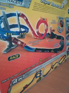 Turbo force racers VTech 4 banen