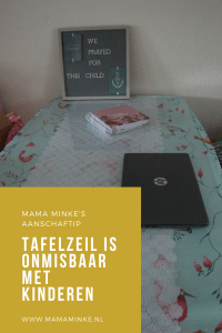 Tafelzeil is your friend. pinterest afbeelding