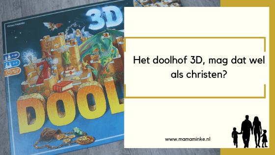 Doolhof 3D als christen, mag dat? uitgelichte afbeelding