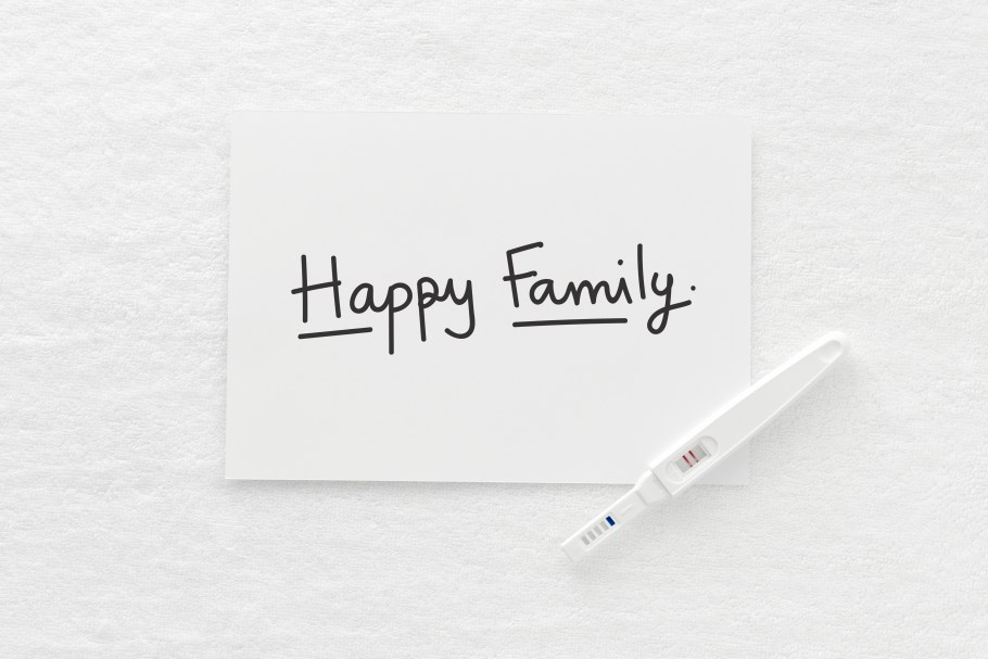 test positivo embarazo somos familia