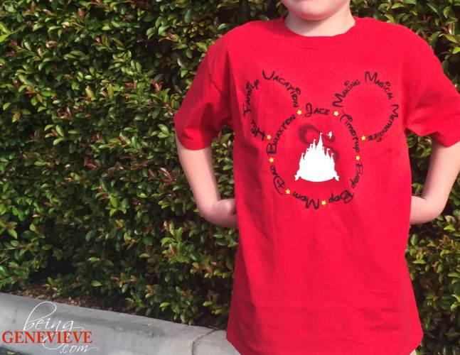 Disney Family Vacation Shirt