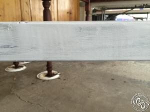 Antique Paint & Stain Technique - Farmhouse Table