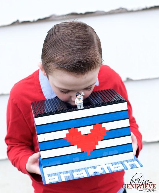 Lego Valentine Box
