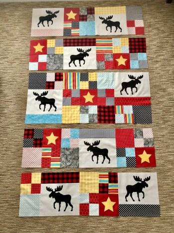 Moose & Star Quilt