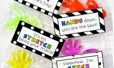 Sticky Hand Valentines
