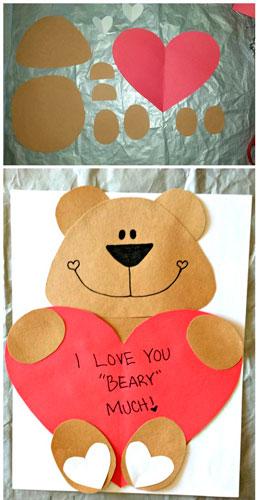 शुभकामनाएं - 14 फरवरी के लिए हस्तशिल्प