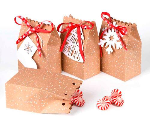 Enkel og smuk gaveemballage med egne hænder til det nye år