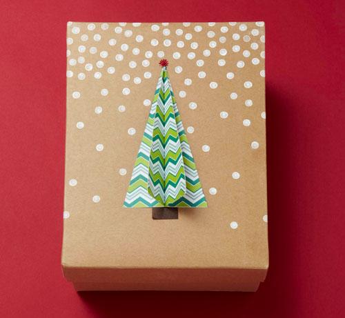 Hvor smukt at pakke gaver til det nye år