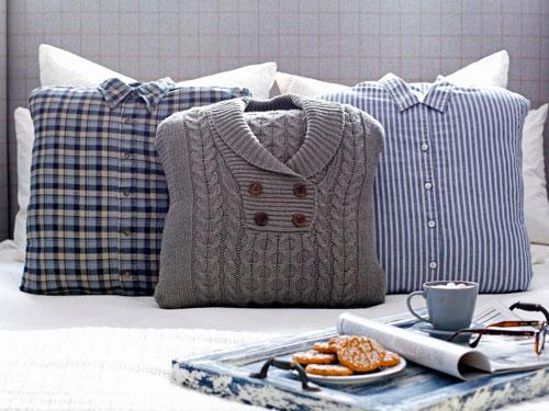 古いものからの作り方ソファ枕
