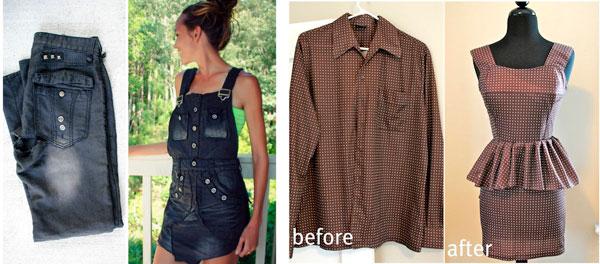 新しい服を新たにする方法