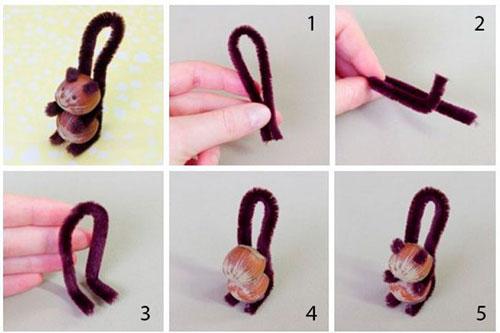 صنایع دستی ساده خود را برای یک کودک از سیم 2 انجام دهید