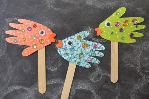 صنایع دستی ساده با دستان خود را برای کودک در 2 سال