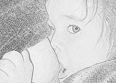 enfant allaité