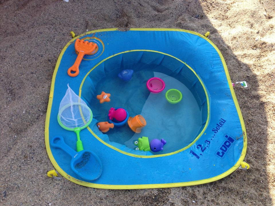 Piscine pop up de plage LUDI