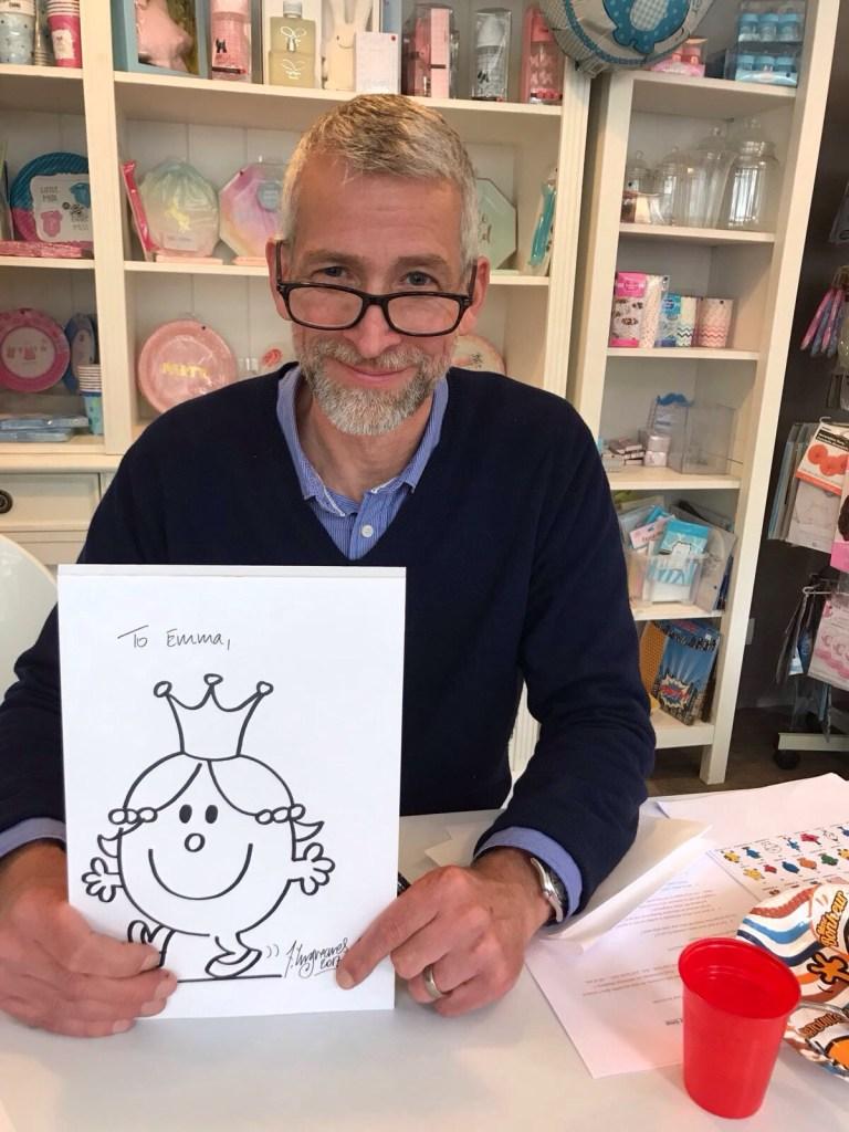 Adam Hargreaves - Illustrateur des Monsieur Madame