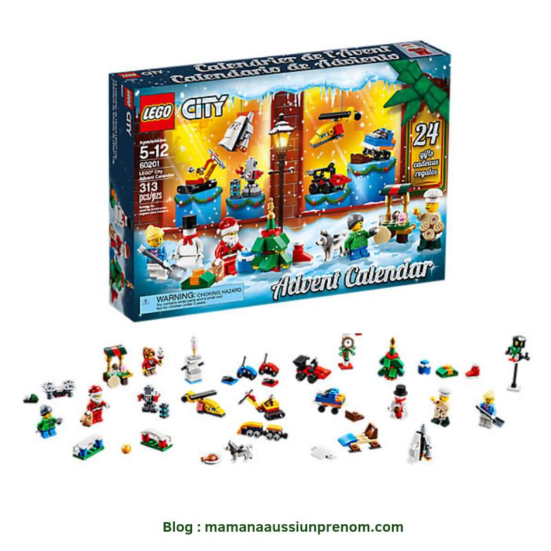 Calendrier de l'avent - LEGO CITY
