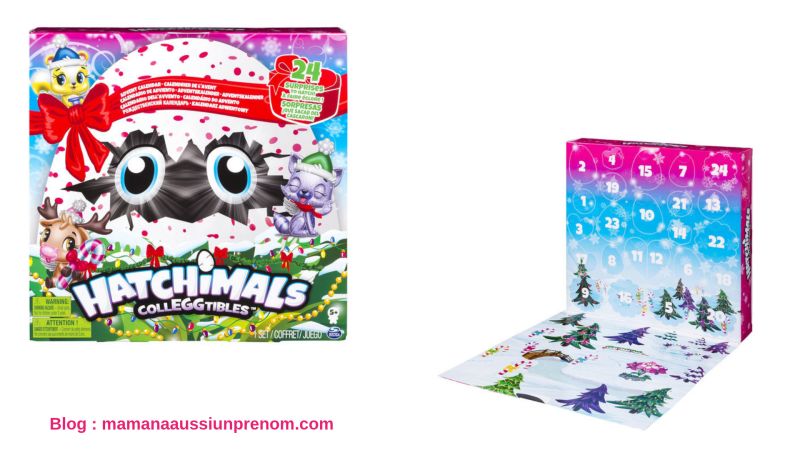 Calendrier de l'avent - HATCHIMALS