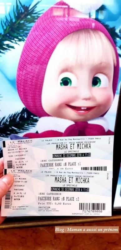 Spectacle de Masha et Michka