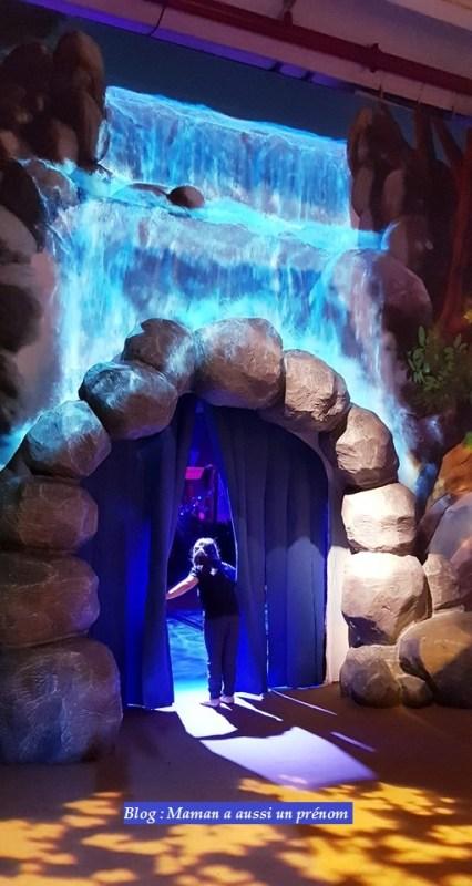 La Schtroumpf Expérience - La cascade