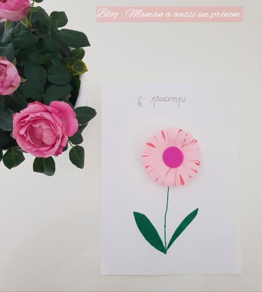 DIY ENFANT - CREATION D'UNE FLEUR