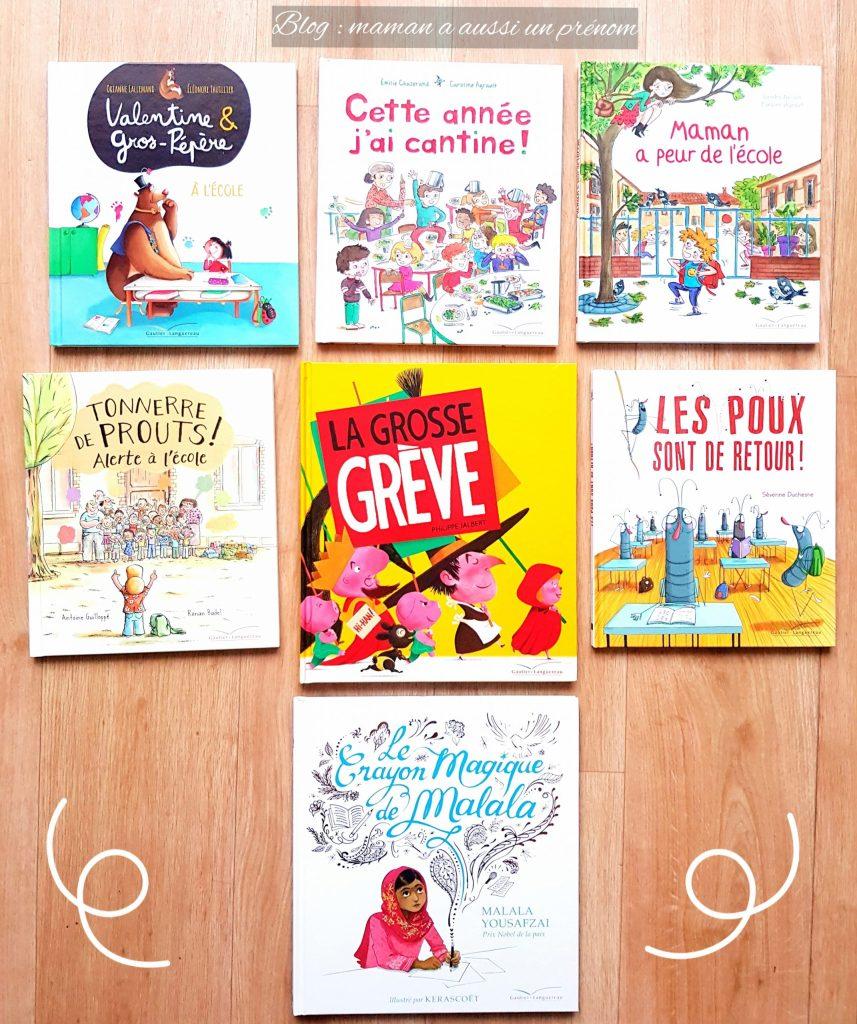 7 livres originaux et sympas autour du thème de l'école