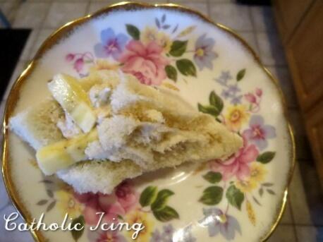 thé de pâques - lis de pâques