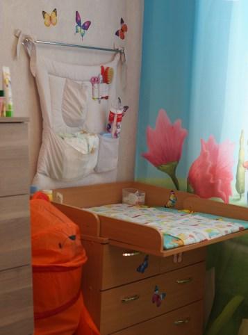 Как организовать место для ухода за новорожденным