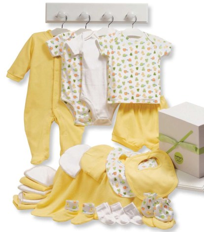 Список одежды для новорожденных