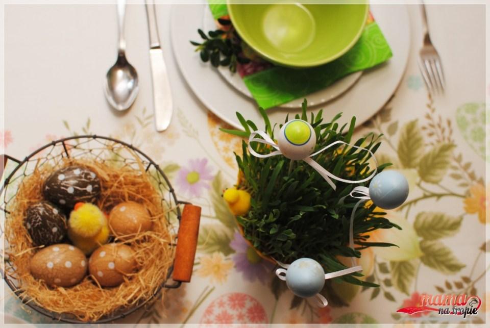 stół świąteczny, iwelkanoc