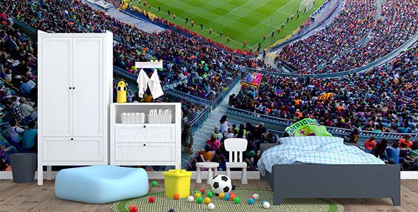 fototapety, pokój chłopięcy, piłka nożna