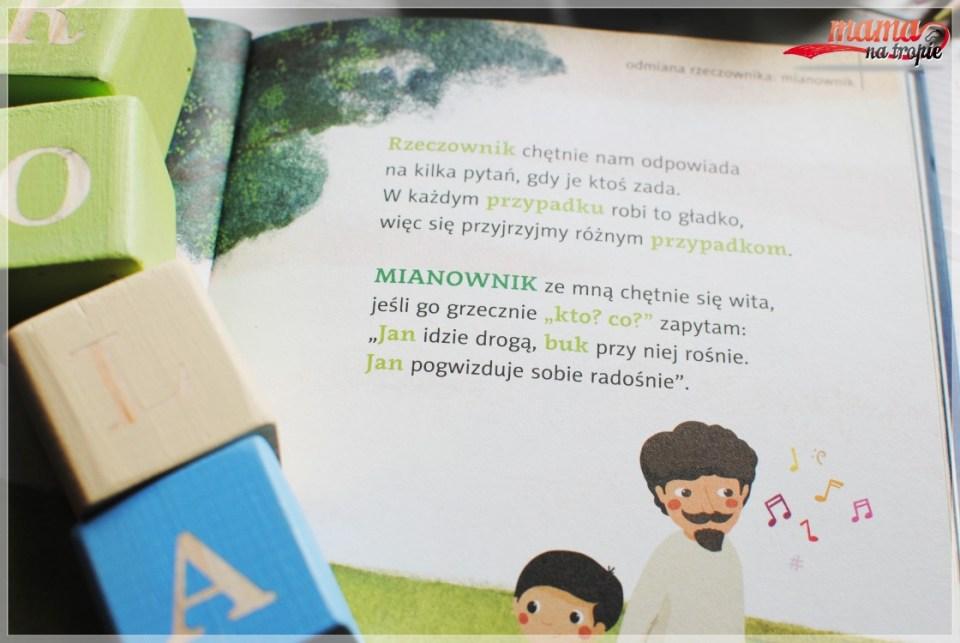 nauka gramatyki, domowa edukacja