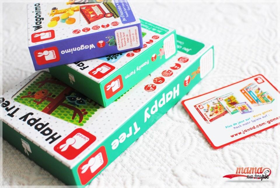 janod, gry planszowe, dla dzieci