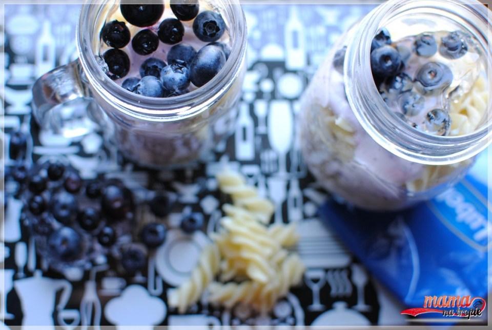 makaronowe świderki, galaretka transparentna, lubella, zainspiruj się latem