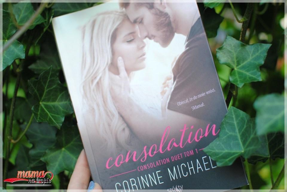 consolation, corinne michaels, książki dla kobiet