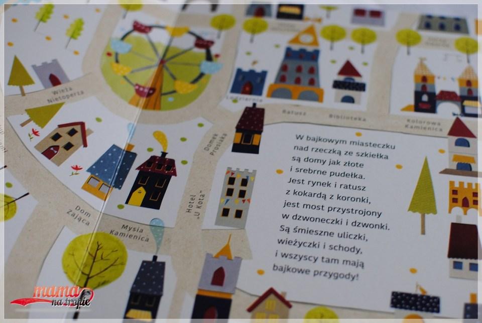 miasteczko z bajki, ksiązki dla dzieci, papilon