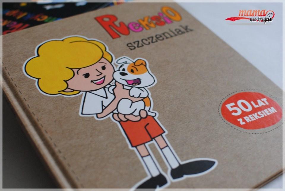 reksio szczeniak, papilon, książka dla dzieci, reksio