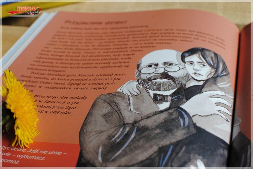 Korczak, przyjaciel dzieci, książka dla dzieci, wilga