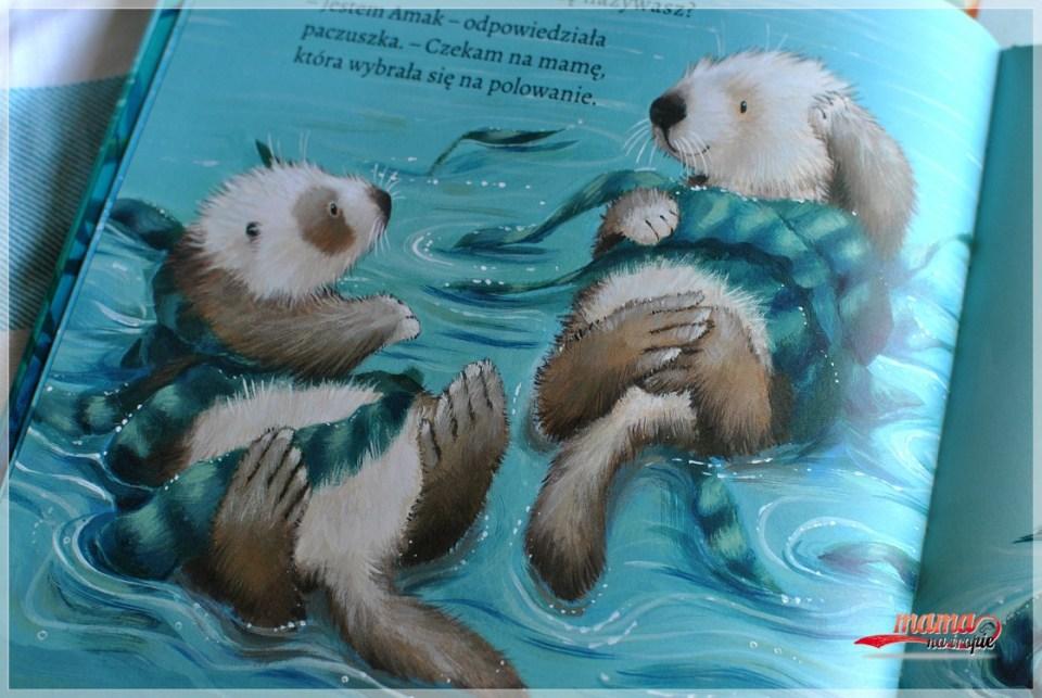 trzymaj mnie mocno, książka dla dzieci, zielona sowa
