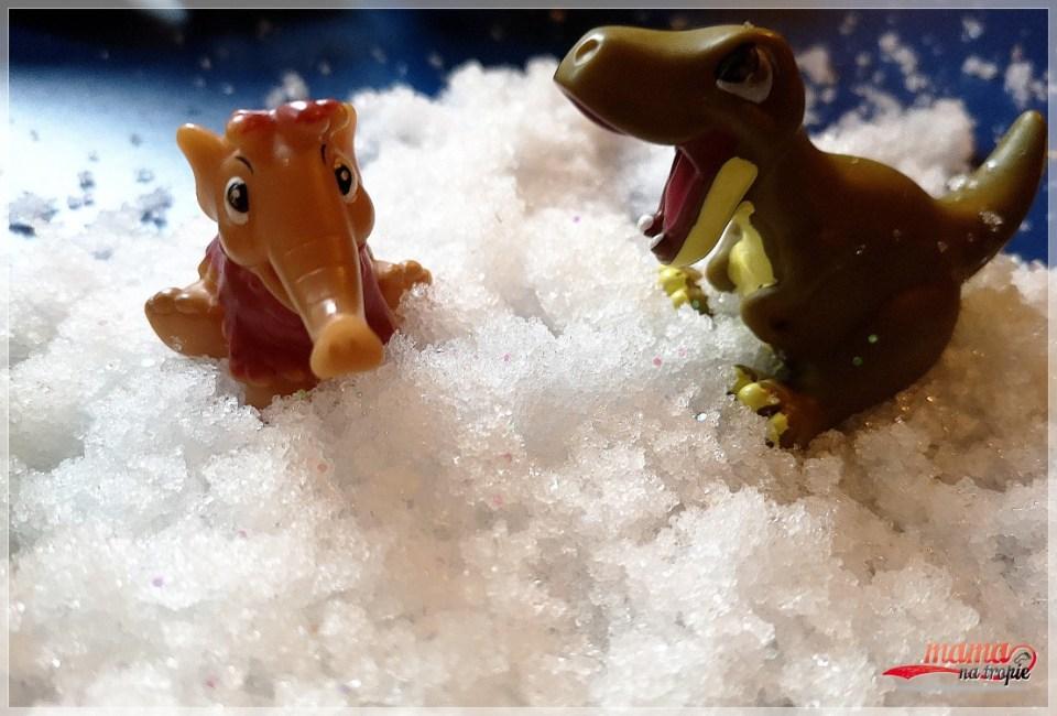 sztuczny śnieg, zabawa ze śniegiem