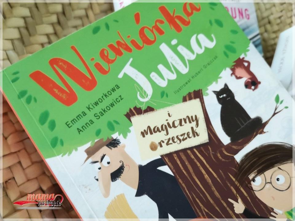 wiewiórka julia, książka dla dzieci, książka detyktywistyczna